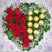 Roses with Ferrero: Roses To Singapore