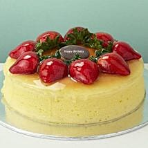 Strawberry Cheesecake: Birthday Cake Delivery in Singapore