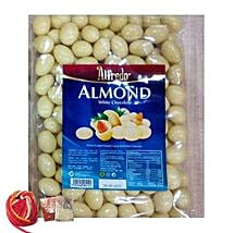 Yummy Almonds White Chocolates: Easter Gift Delivery Singapore