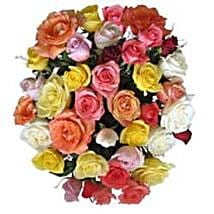 15 Mix Roses in Cello SA: Corporate Gifts to South Africa