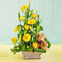 Baby Flower Arrangement: Corporate Hampers to South Africa