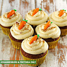 Carrot and Pecan Nut Cupcakes: Send Gifts to South Africa
