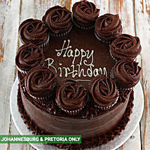 Chocolate Party Cake: Birthday Cake Delivery in South Africa