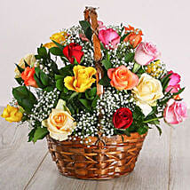 Country Mixed Rose Display: Send Fathers Day Gifts to South Africa