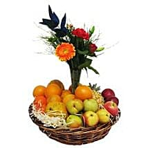 Fruit and Flower Basket SA: Xmas Gift Delivery South Africa