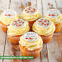 Happy Birthday Cupcakes for Her: Send Birthday Cakes to South Africa