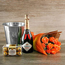 Orange Passion Gift Of Romance: Fathers Day Gifts to South Africa
