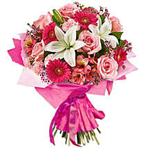 Pink Blush: Anniversary Flower Delivery in South Africa