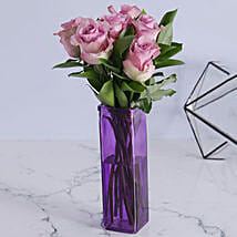 Precious Light Purple Arrangement: Send Romantic Gifts to South Africa