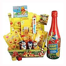 Pooh School Sweet Creative Set XL with Kids Champagne: Corporate Gifts to Spain