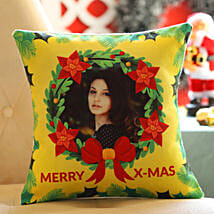 Personalised Xmas Wishes For Her Cushion: Gifts to Sri-Lanka