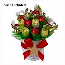 Classic Christmas Sweet Bouquet: Send Gifts to Sweden