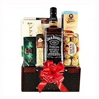 Jack Daniels Gift Basket: Send Gifts to Sweden