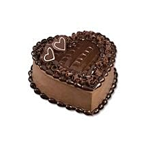 Chocolate Heart Cake: Corporate Gifts to Thailand