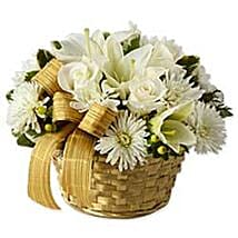 White Gold THLD: New Born Baby Flowers to Thailand