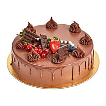 4 Portion Fudge Cake: Chocolate Cake Delivery in UAE