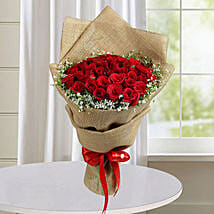 50 Red Roses Bunch: Valentine's Day Roses to UAE