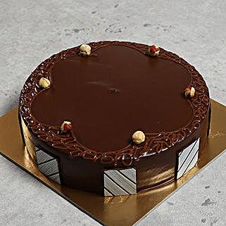 500gm Eggless Hazelnut Choco Cake: