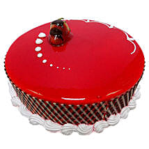500gm Strawberry Carnival Cake: Half Kg Cake Delivery in UAE