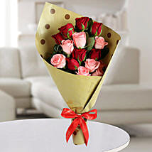 7 Love Roses Bunch: Valentine's Day Rose Delivery in UAE
