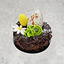 8 Portion Easter Ganache Cake: Easter Gifts USA
