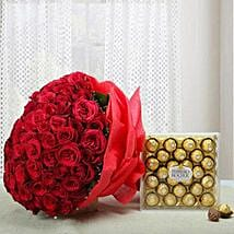 Attractive Combo of Love: Send Flowers N Chocolates to UAE