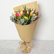 Beautiful Tulips Bouquet: Birthday Flower Delivery in UAE