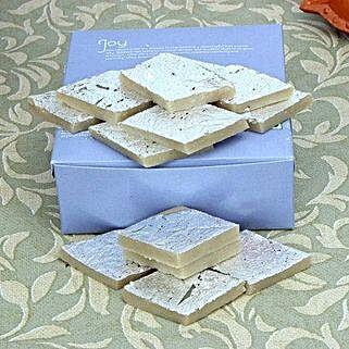 Box of Kaju Barfi: Bhai Dooj Sweets to UAE