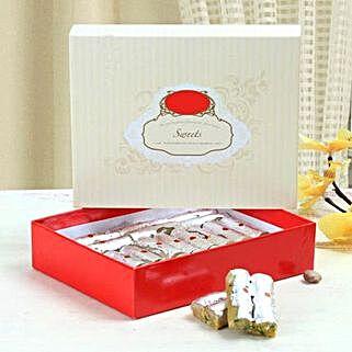 Box of Kaju Roll: Diwali Sweets to UAE