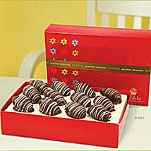 Chocolate Dates with Glaze: Bhai Dooj Gift Delivery in UAE