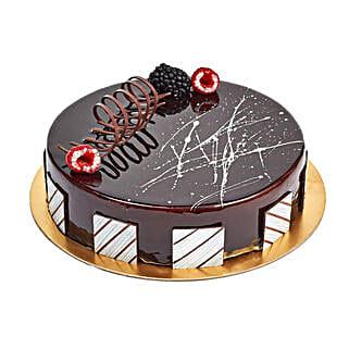 Chocolate Truffle Birthday Cake: Send Birthday Gifts to Sharjah