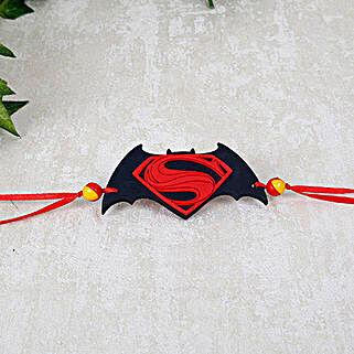 Classic Superman Batman Rakhi: Send Rakhi for Kids to UAE