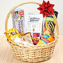 Coffee And Snacks Basket: New Arrival Gifts to UAE
