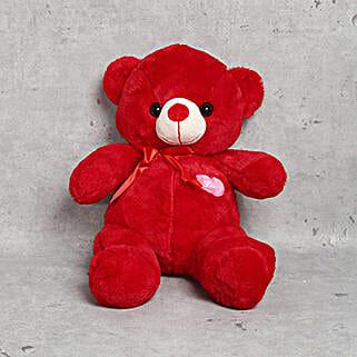 Cuddly Red Teddy Bear: Bhai Dooj Gift Delivery in UAE