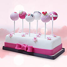 Customised Cake Pops 6 Pcs: Mother's Day Gift Delivery in UAE