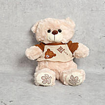 Cute Coffee Brown Teddy Bear: Bhai Dooj Gift Delivery in UAE