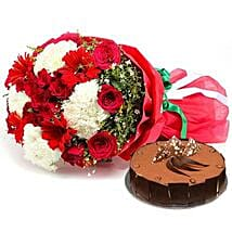 Dazzling n Delicious: Send Flower Bouquets to Abu Dhabi