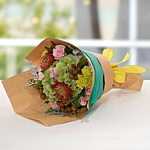 Exotic Flower Bouquet: Wedding Gifts to UAE