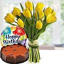 Happier Times: Birthday Flowers and Cakes in UAE