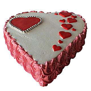 Heartshape Love Cake: Valentine's Day Cakes to UAE