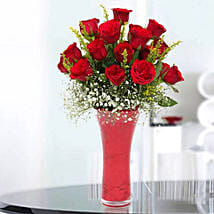 Long Stem Red Roses: Send Flowers to Sharjah
