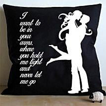 Mad For Each Other Cushion: