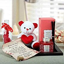 Message Of Love For U: Dubai Gift Basket Delivery