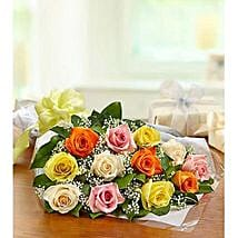 One Dozen Roses: Friendship Day Flowers UAE