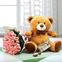 Perfect Gift hamper: Flowers and Chocolates to Dubai