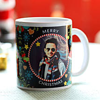 Personalised Jolly Christmas Greetings Mug: Order Gifts for Boys in UAE