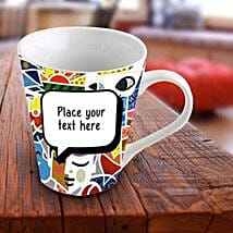 Personalized Vibrant Mug: Personalized Gifts to Sharjah