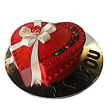 Red Infatuation Cake: Valentine's Day Cake Delivery in Dubai