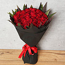 Red Roses Bouquet: Send Anniversary Flowers to UAE