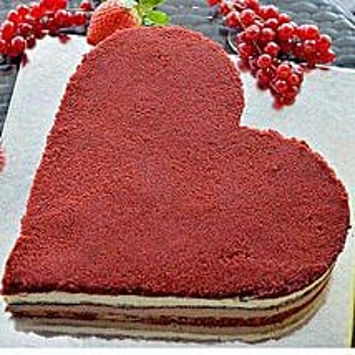 Romantic Velvet Cake: Anniversary Cakes to UAE
